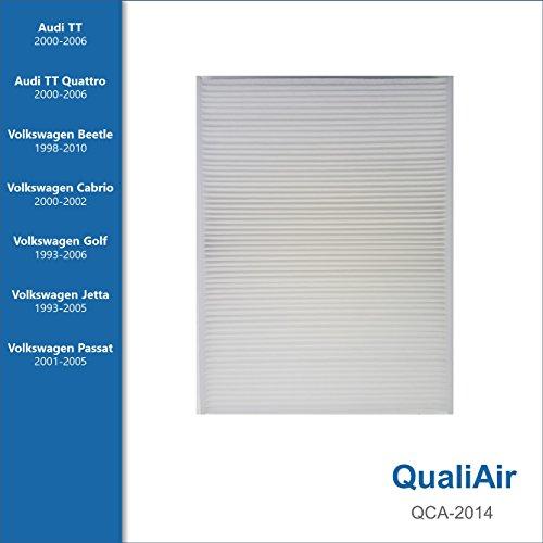 QualiAir QCA-2014, Cabin Air Filter for Audi, Volkswagen (1Pack)
