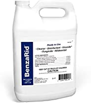 BenzaRid Hospital Grade Disinfectant (1 Gallon) | Professional Sanitizer & Vircucide, Kills MRSA, H1N1, H5