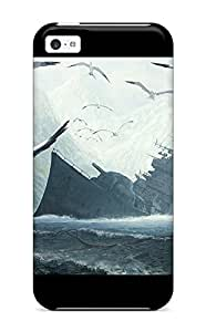 For Iphone Case, High Quality The Broken Ship Bird Animal Bird For Iphone 5c Cover Cases by lolosakes
