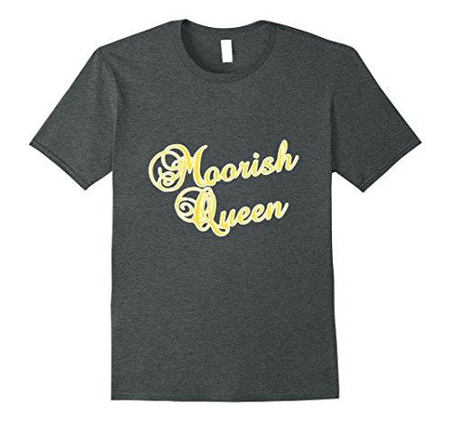 Mens Moorish Queen T Shirt American Moor Clothing 3XL Dark Heather