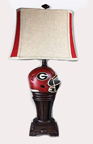 georgia bulldog lamp - 4