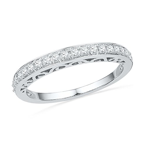 1/4 CT. T.W. Diamond Wedding Band