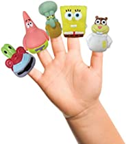 Nickelodeon Spongebob Finger Puppets - Party Favors, Educational, Classroom Rewards, Bath Toys