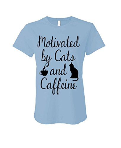 MOTIVATED CATS CAFFEINE LADIES T Shirt