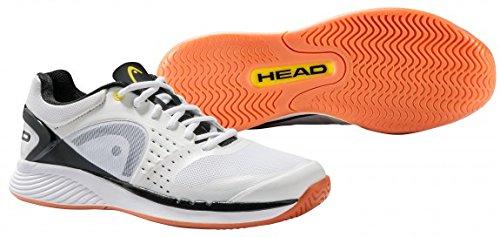 Head Men's Sprint Pro Indoor Low Shoe, Black/Lime, 9.5 M US