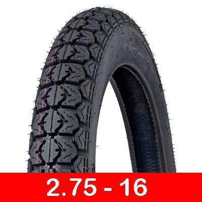 Motorcycle Tire 2.75-16 Sport Performance Dual On/Off Road (P44)