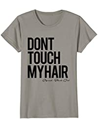 Afrocentric Don't Touch My Hair! Natural Curls T Shirt
