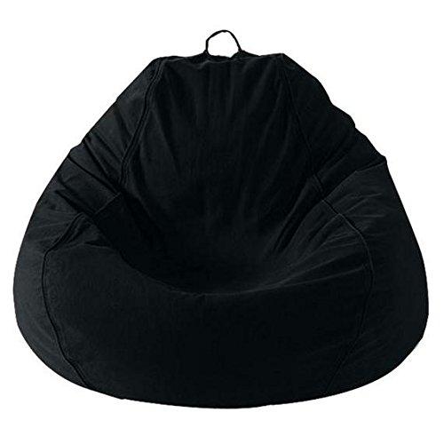 ADULT PEAR, TRUE BLACK BEANBAG - Pear Chair