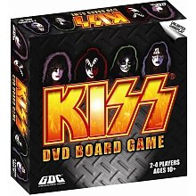 KISS DVD Board Games