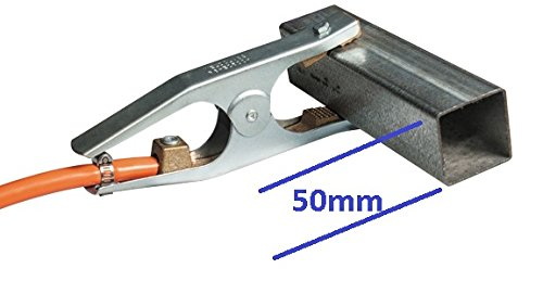 300 Amp Taipan Abrasives WC-01530 Weldclass Model P6-EC300H Platinum Heavy Duty Ground Clamp