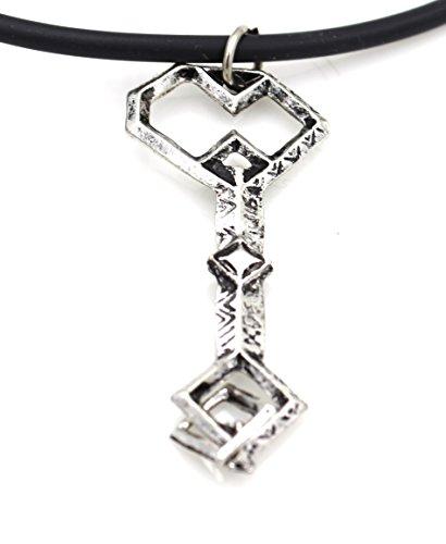 Glazed Black Cherry Fantasy - The Lord Thorin Oakenshield Treasure Necklace - Steampunk - Funky - Key