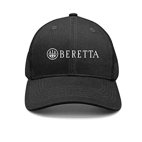 Cool Beretta-Logo- Snapback Hat Designer mesh Cap (Beretta 92 Grips Wood)