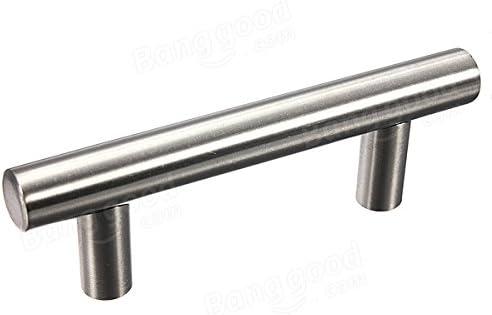 Doradus 4 Inch T Bar Handle Stainless Steel Cabinet Door Handle 12x100x64mm