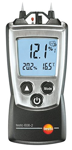 Testo 0560 6062 Pocket PRO Moisture Meter with RH and Temperature, 2 AAA Battery
