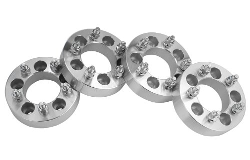 4 Toyota Tundra Wheel Spacers Adapters 1.5 inch thick fits ALL 5 Lug Tundra Models by easywheel