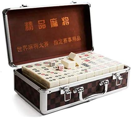 Mah Jong Juegos del azulejo Chino Mahjong Juego Juego Juego de Mesa Chino Tradicional Mahjong Entretenimiento Mejor Regalo for el Amante de Mahjong Mahjong Inicio frotamiento: Amazon.es: Hogar