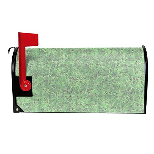 - Texture Art Green Carrara Marble Decoration Mailbox Cover Outdoor Themed Printed Products Cover Magnetic Post Box 21