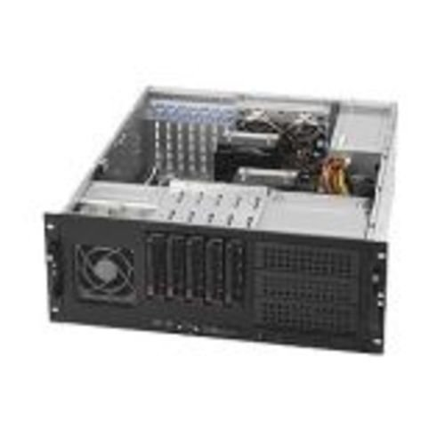 Supermicro CSE-842TQ-865B 865W 4U Tower/Rackmount Server Chassis (Black) by Supermicro