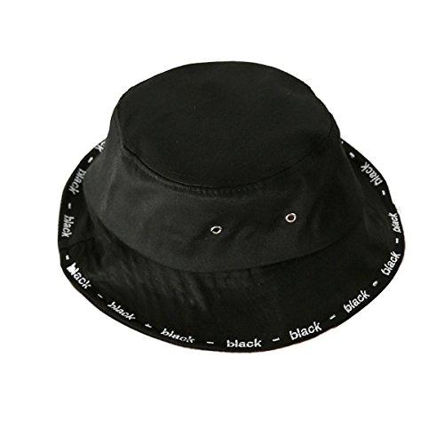 flat top bucket hats wide brim solid