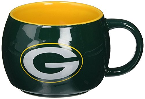 Green Bay Packers 14oz Stack Relief Mug (2 pack)