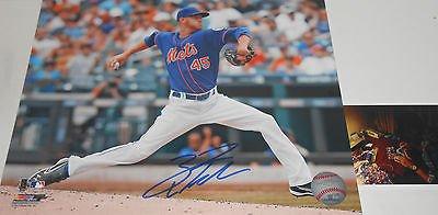 Zack Wheeler New York Mets PSA DNA ROOKIE COA Signed Baseball I Love NY