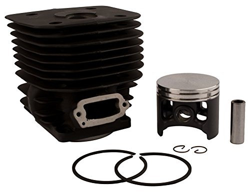 NWP Piston & Cylinder Assembly (60mm) for Husqvarna 3120, 3120K Chainsaws (576 by Baileys Inc.