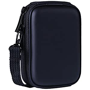 HDE Black Hard Case for Nikon Coolpix Digital Cameras