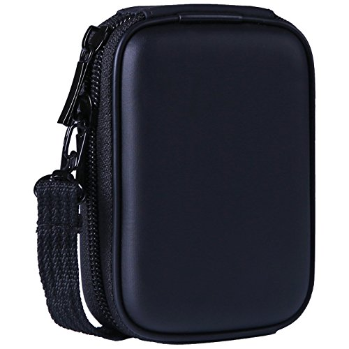 Coolpix Camera Case - HDE Black Hard Case for Nikon Coolpix Digital Cameras