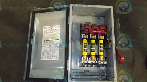 HI Siemens HF362J 60 Amp 3 Pole 600V 3 Wire Fused Heavy Duty Type 12 Switch Siemens