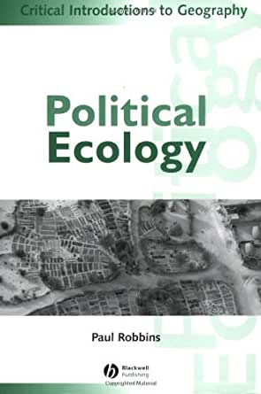political ecology critical introduction edition introductions geography