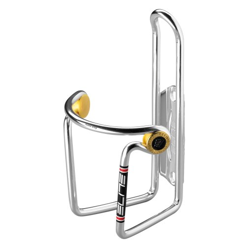 Elite Water Bottle Cages - Elite Ciussi Alloy Bottle Cage, Silver