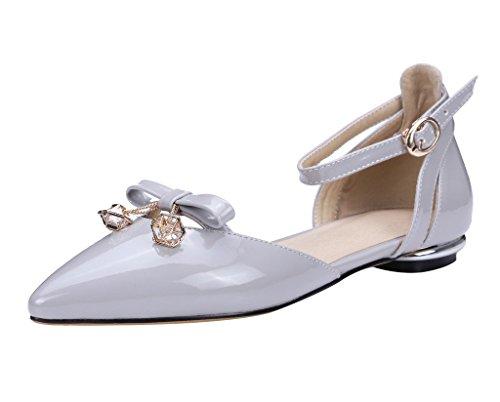 Guoar - Tira de tobillo Mujer Gris - gris