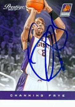 Channing Frye autographed Basketball Card (Phoenix Suns) 2012 Panini Prestige #47 - Basketball Autographed (2012 Prestige Autograph)