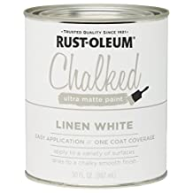 285140 Rust-Oleum Ultra Matte Interior Chalked Paint 30 oz,  Linen White