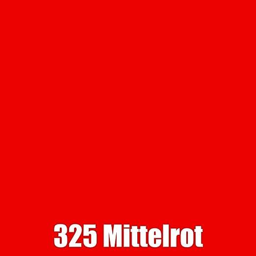 Oracal 751C 63cm breit Plotter Folie Rot und Orange Töne Orafol