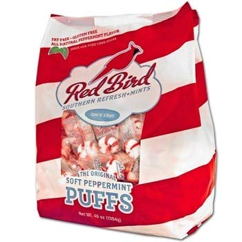 (Red Bird Southern Refresh - Mints Soft Peppermint Puffs, 46 oz bag)