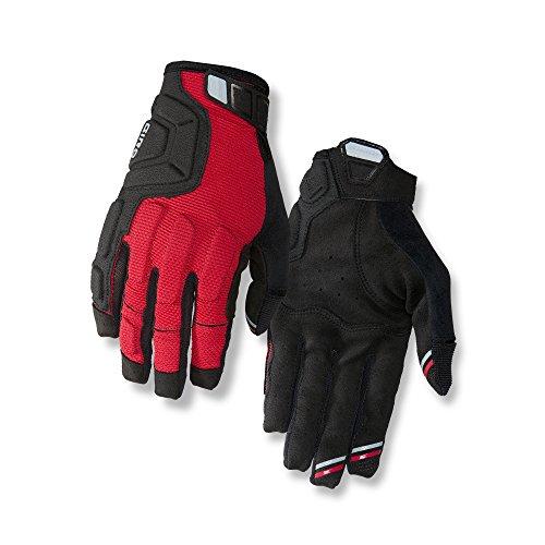 Giro Remedy X2 Downhill Bike Gloves Dark Red/Black/Gray ()