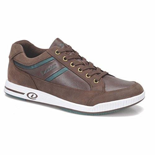 Dexter Mens Keegan Chaussures De Bowling- Main Droite Marron / Vert
