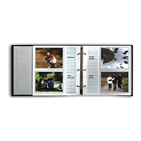 Amazoncom Pioneer Bonded Leather 3 Ring Photo Album Refill 20