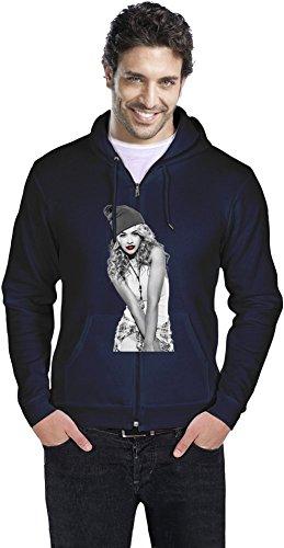 Rita Ora Celebrity - Red Lips Mens Zipper Hoodie: Amazon.es: Ropa y accesorios