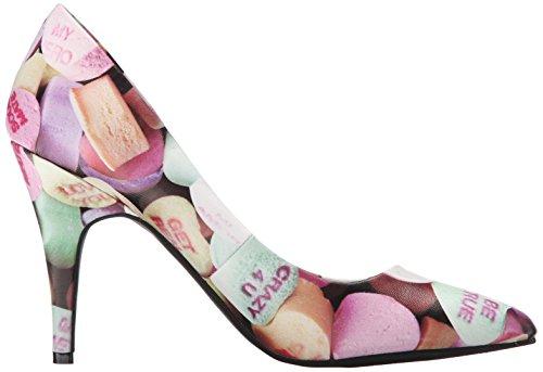 T.U.K. Women's Candy Hearts Pointed Toe Pump Dress Pump Multi GA3Eyp2