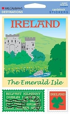 Ireland Destinations Cardstock Scrapbook Stickers (31367)