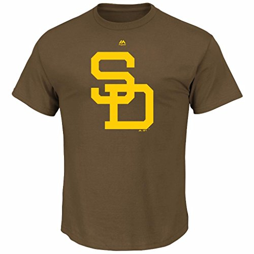 MLB Youth Cooperstown Official Logo Team T-Shirt (Youth Xlarge 18/20, San Diego Padres) – DiZiSports Store
