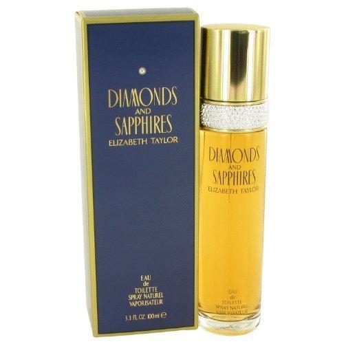Diamonds & Saphires Perfume By Elizabeth Taylor Eau De Toilette Spray For Women 3.4 oz Eau De Toilette Spray
