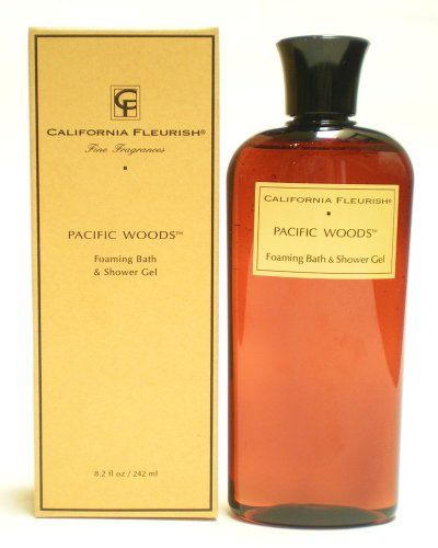 Pacific Woods Foaming Bath Shower Gel 8.2 oz 242 ml