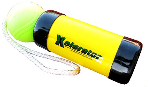 The Original Xelerator Fastpitch Softball Pitching Training Aid And Warm Up Tool With 12 Inch Foam Ball – Economy Model