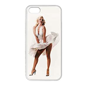 Marilyn Monroe for ipod touch 4 touch 4 Case Cover 020650 Laser Print Technology with Shockproof Protection Rubber Sides