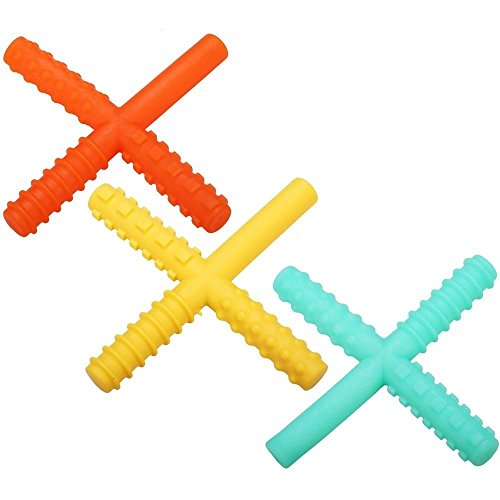 Therapeutic SCENTED Oral Motor Sensory Fidget Strength Bite Chew (Citrus)