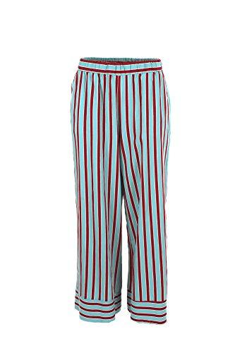 2018 M Pantalone Donna Turchese bordeaux Imperial Pve1v4s Estate Primavera wFv8qBE