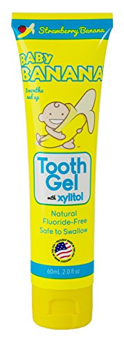 Baby Banana Tooth Gel Strawberry product image